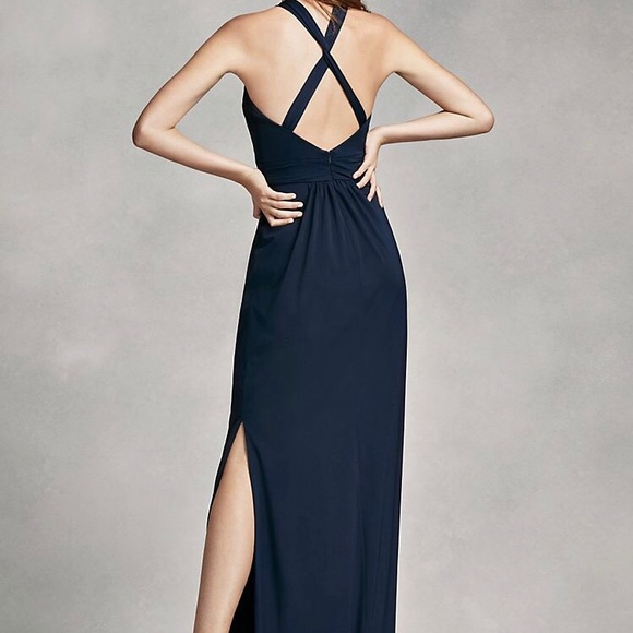 White by Vera Wang Dresses   Nwt Midnight Blue Gown   Poshmark
